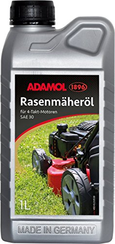 ADAMOL 189601210530Cortacésped de Aceite sae30, de 4del, 1L