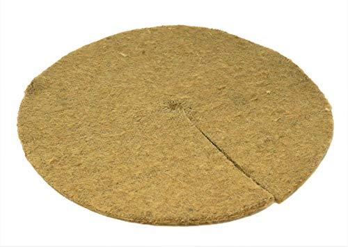 Alfombras de mantillo / polainas para árboles 35cm paquete de 10