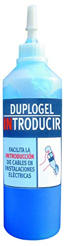 Anguila 46015000 Duplogel introducir, Azul 500cc