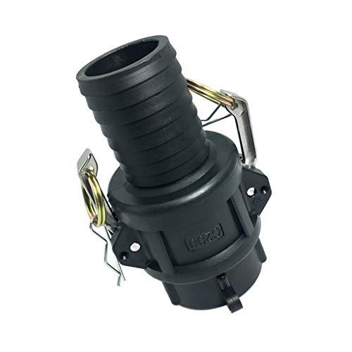 B Baosity IBC Tote Tank Drain Adapter Adaptador De Cámara Hembra De 2 Pulgadas A Manguera De Jardín De 25-50 Mm, 3 Tamaños para Elegir - 50mm