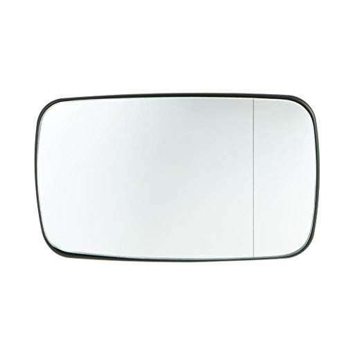 BeIilan Blanco Accesorio climatizada de Cristal Espejo retrovisor Espejo retrovisor de Cristal Izquierdo Lado Derecho Automóviles reemplazo 51168250438 para E46