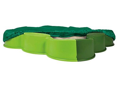 BIG - Cajón de Arena con Cubierta, Color Verde (800056722)