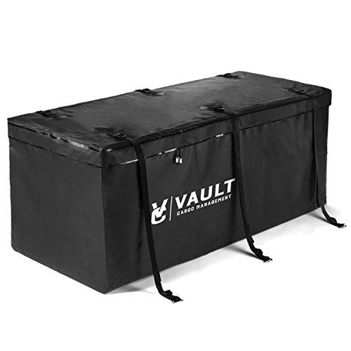 Bolso marca VAULT CARGO de transporte con enganche para el auto, resistente al agua - 0,42 metros cúbicos - bolsos para transporte ideales para ir a acampar, llevar equipaje y equipamiento