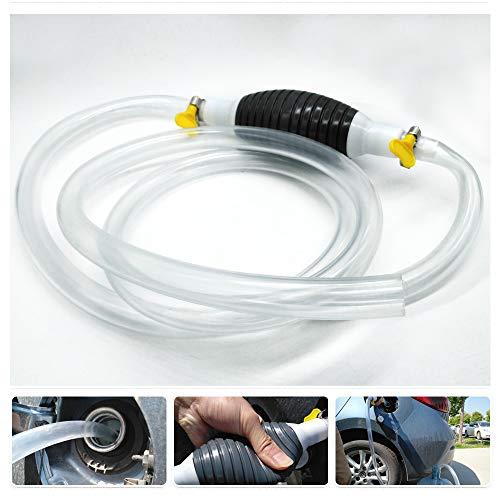 Bomba de mano manual de alto flujo Sifón Bomba de transferencia de combustible del coche manual para gasolina gasolina Gas de gasolina con gasolina