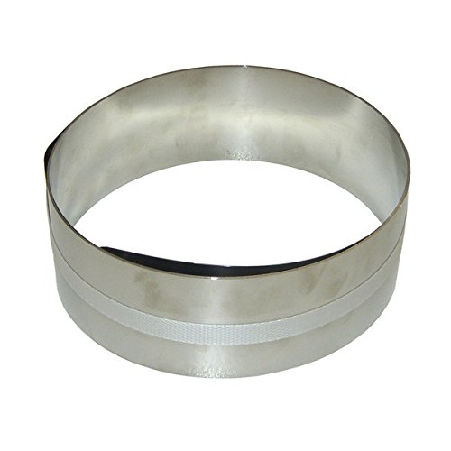 Bonum 936372 - Guía para empapelar paredes (acero inoxidable)