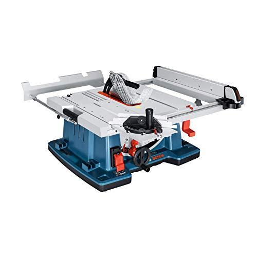 Bosch Profesional Sierra Circular de mesa GTS 10 XC con freno de motor (potencia: 2100 W, diámetro del disco de sierra: 254 mm)
