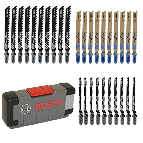 Bosch Professional 2607010903 Hojas de Sierra de Calar, Set de 30 Piezas