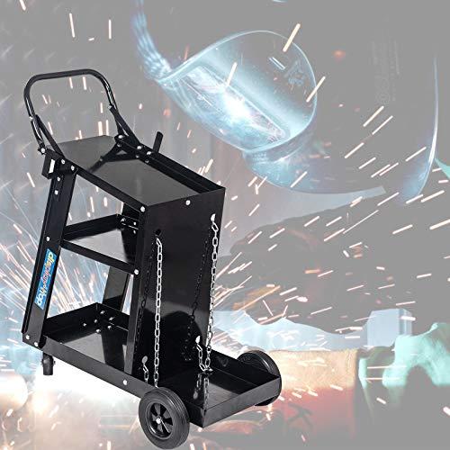 Carro de herramientas de reparación de soldadura multifunción, corte por plasma Almacenamiento de arco Mig Tig