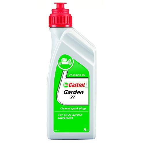 Castrol 14565600 Garden - Aceite para motosierras y máquinas cortacésped (2T, 1 l)