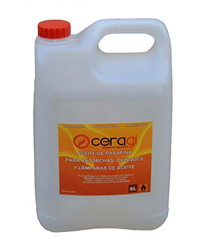 CERAGI Aceite de parafina. Garrafa 5 litros