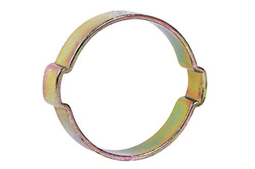 Cofan 08042327 Abrazadera de 2 orejas, 23-27 mm