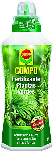 Compo 1444102011 Fertilizante Planta Verde 1000 ml, 28x9.3000000000000007x7.8 cm