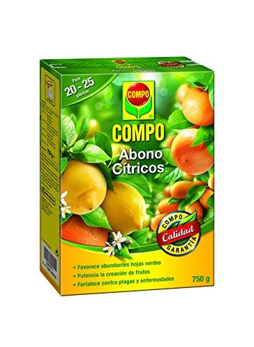 Compo Abono para cítricos, Efecto de Larga duración de 4 semanas, 750 g, 2655002011