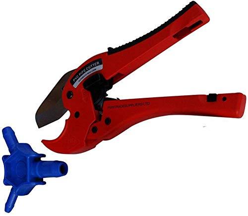 Cortatubos automáticos para tubos multicapa de tubería de plástico kalibrierer para calibración rápida y limpia