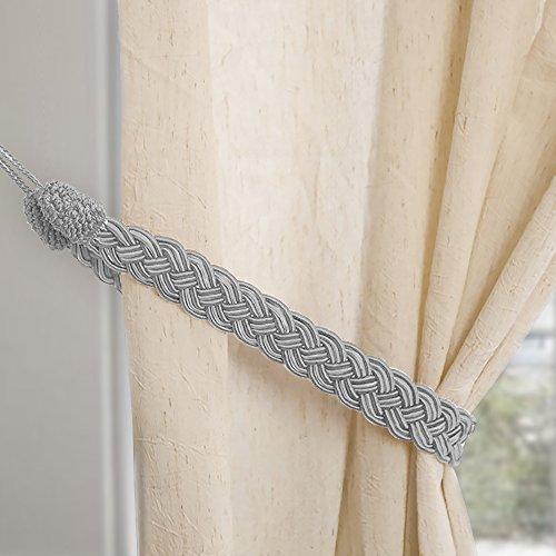 Cuerdas simples tejidas a mano para cortinas, abrazaderas y accesorios