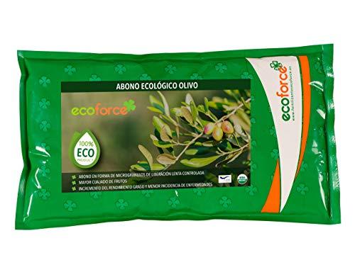 CULTIVERS Abono - Fertilizante Ecológico de 1,5 Kg Especial Olivo y Plantas Mediterráneas. Origen 100% Orgánico y Vegano. Mejora la Productividad de los Cultivos
