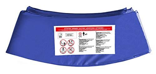 CZON SPORTS 250 cm Cojín Protector para trampolín, Unisex-Youth, Azul