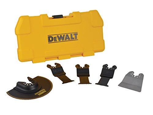 Dewalt DT20715-QZ Juego de 5 hojas de sierra para multi-herramienta DT20701-QZ