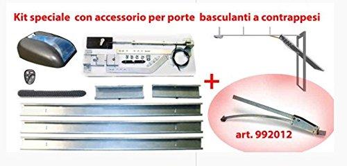 Ducati, 8900Roll + 992012- Abrepuertas para garaje, impulsado por correa, con accesorio para puerta basculante