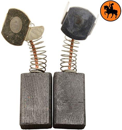 Escobillas de Carbón para VIRUTEX TM33L tronzadora -- 6,6x12x21mm -- 2.4x4.7x8.3''