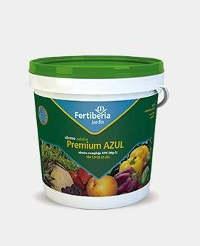 FERTIBERIA Abono granulado Premium Azul 1Kg para Todo Tipo de Plantas