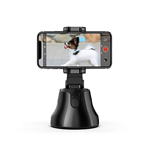 Festnight Soporte portátil de seguimiento automático para selfie de 360 grados, soporte de seguimiento de objeto