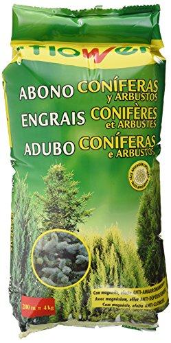 Flower 10750 - abono coníferas y arbustos, 4 Kg