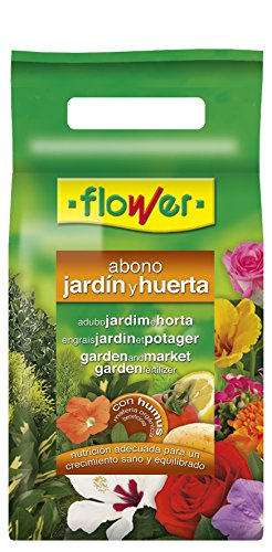 Flower 10850 10850-Abono Huerta y jardín, 2 kg, No Aplica, 21x7x42.5 cm