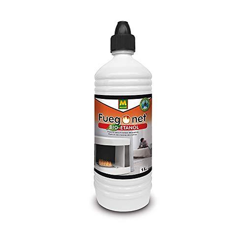 FUEGO NET Fuegonet 231427 Bioetanol, Transparente, 3x8x27.4 cm