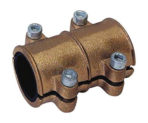 Gebo 16049 0 Abrazadera para tubo de cobre, 28 mm, Latón