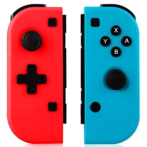 GEEMEE Mando para Nintendo Switch, Bluetooth Wireless Controller Gamepad Joystick Controlador De Reemplazo Izquierdo Y Derecho para Joy con