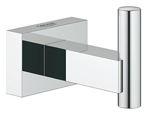 Grohe Essentials Cube - Colgador de albornoz, fijación empotrada (Ref. 40511001)