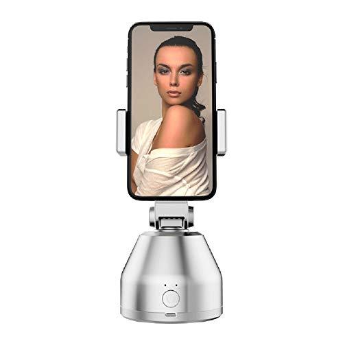 Haliyo Selfie Stick, Rotación automática de 360 ??°, Rastreo automático de Objetos en la Cara, Cámara de Disparo Inteligente, Montaje de cámara Pivo de composición AI para teléfonos