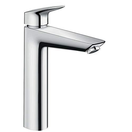 Hansgrohe 71091000 Logis grifo de lavabo 190 sin vaciador automático, cromo