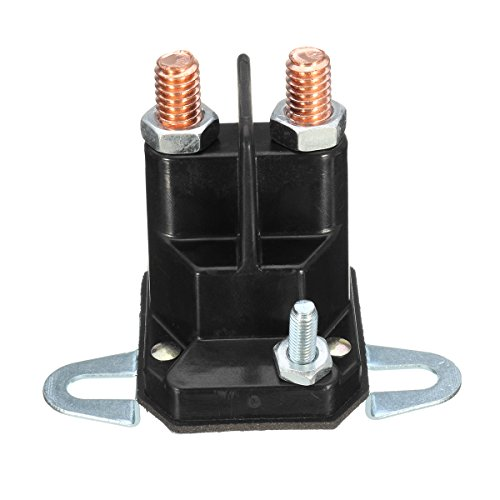 HELEISH Interruptor de relé de solenoide de arranque de 3 polos Stens universal para cortacésped MTD Accesorios de motos