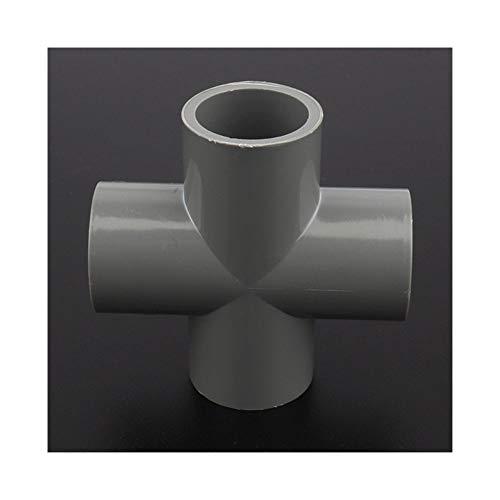 Herramienta tubo de bricolaje 32mm Cruz PVC articulaciones Agrícola de riego Accesorios de acuario tanque de agua tubo de ajuste partes de agua Jardín conectores de agua 12/24 / 48pcs