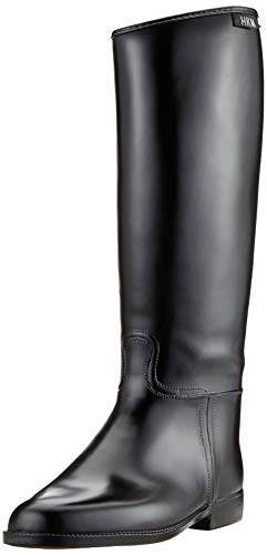 HKM 4502 Botas de equitación para niños, color negro, 29 EU