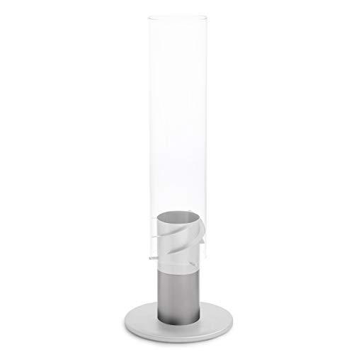 höfats - SPIN pie - Aumenta la Altura de la biochimenea SPIN 11 cm - Hecho de Acero Inoxidable - sólo para Uso Exterior - Accesorio para la Chimenea SPIN