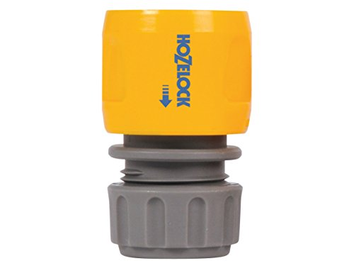 Hozelock 2166 Accesorio para Manguera Conector de Manguera PVC Gris, Amarillo 1 Pieza(s) - Accesorios para mangueras (1 Pieza(s), 90 mm, 40 mm, 145 mm, 40 g)
