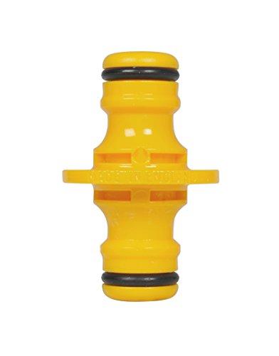 Hozelock - Conector universal doble para manguera de riego