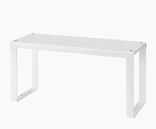 IKEA Variera Estante Adicional, Metal, Blanco, 32 x 13 x 16 cm