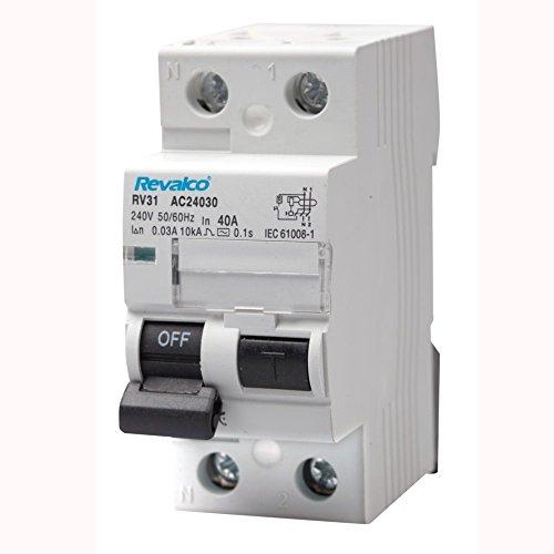 Interruptor diferencial SUPERINMUNIZADO Revalco 2P 40A 300mA (ClaseA)