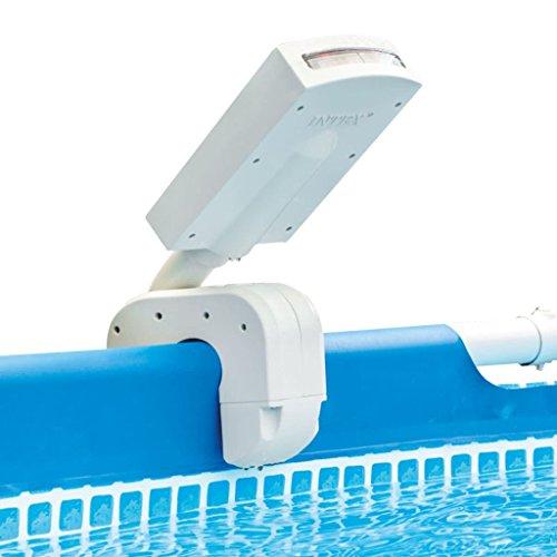 Intex 28089 - Cascada agua vertical con luces led multicolor piscinas 4 colores: Metal y Ultra Frame