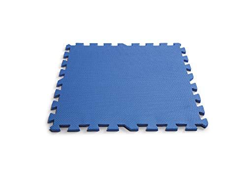 Intex 29081 - Protector suelo para piscinas 50 x 50 x 1 cm, 8 piezas