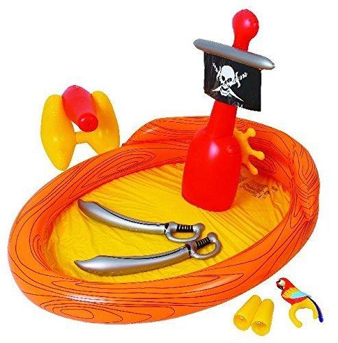 Jilong - (JL097201NPF -P100) Piscina para niños barco pirata , color/modelo surtido