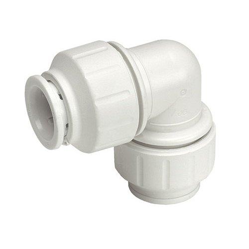 John Guest Speedfit PEM0315W - Codo para fontanería (10 unidades)
