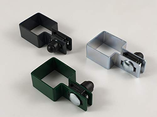 Juego de 3 abrazaderas cuadradas (40 x 40 mm, 50 x 50 mm, 60 x 60 mm, 80 x 80 mm)