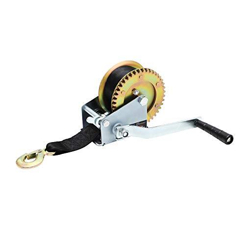 Katsu Tools Cinturón de Mano para Remolque o Barco, (Unisex, con Gancho, Correa de cincha, Multicolor, 8 m)