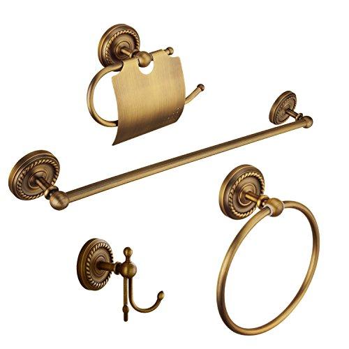 Kelelife Accesorios de baño (latón Antiguo)