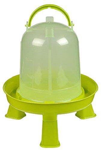 Kerbl - Bebedero de plástico (1, 5 L, con pies, para pollos y gallinas)